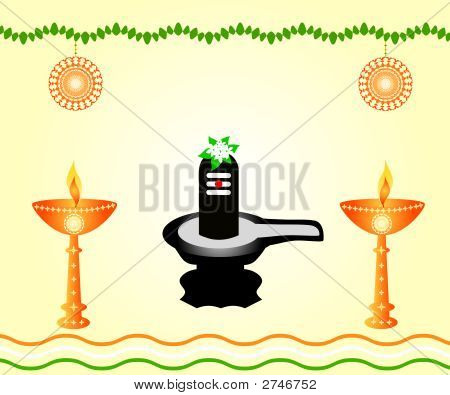 Shivalinga - The Indian God