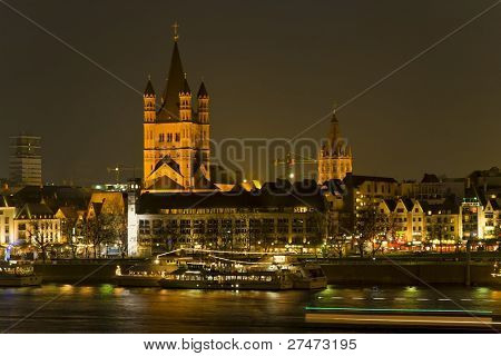 Church St. Martin in Cologne, Germany