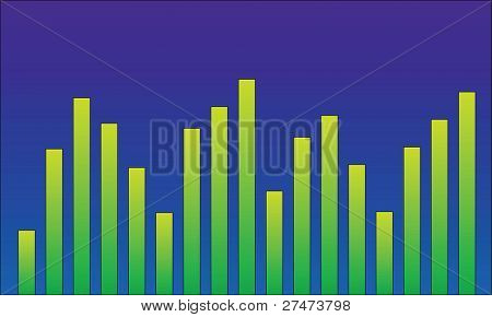 Graphic equaliser or bar chart