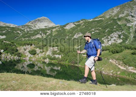 Hiking In National Park Pirin