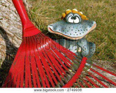 Yard Clean Up Makes Me Happy
