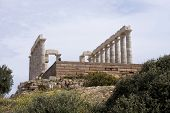 foto of poseidon  - POSEIDON AT SOUNION APRIL 21  - JPG