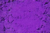 Violet, Purple Color Powder Background. Bright Colours For Indian Holi Festival. Colorful Gulal, Cos poster