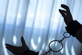 Fetish Bondage Tied Hands Woman poster
