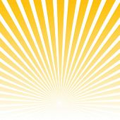 stock photo of starburst  - Sunburst vector - JPG