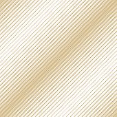 Golden Diagonal Halftone Seamless Pattern. White And Gold Vector Texture Of Mesh, Lace, Weave, Tissu poster