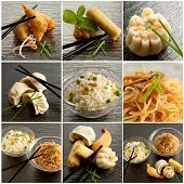 pic of scallion  - collection of chinese food - JPG