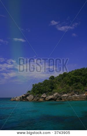 Stone Beach Of Similan Islands, Thailand