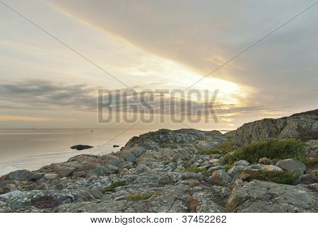 Swedish Coast Sunset