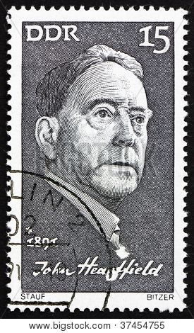 Briefmarke DDR 1971 John heartfield