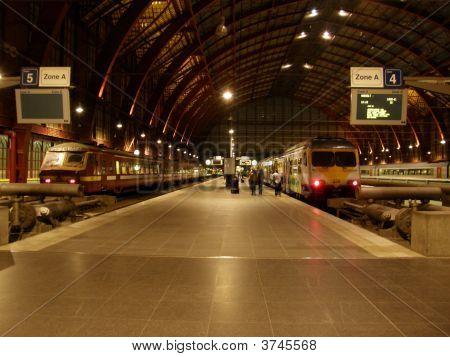 Antwerp Train Station