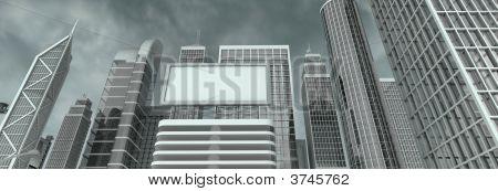 Skyscraper And Billboard