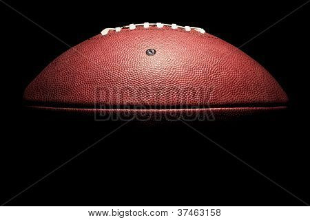 High Contrast Horizontal American Football