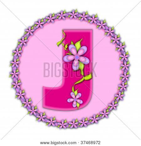 Alphabet Daisy Chain J