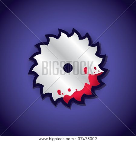 Circular Saw Label