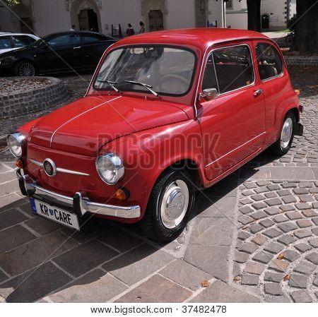 Old Retro Yugoslavian Car