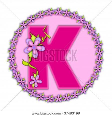 Alphabet Daisy Chain K