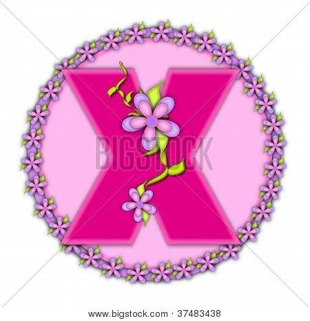 Alphabet Daisy Chain X