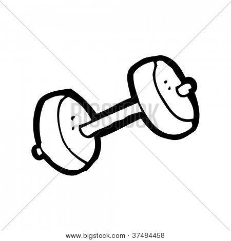 Dibujos animados gimnasio pesas fotos stock e im genes for Gimnasio 7 de fitness badalona