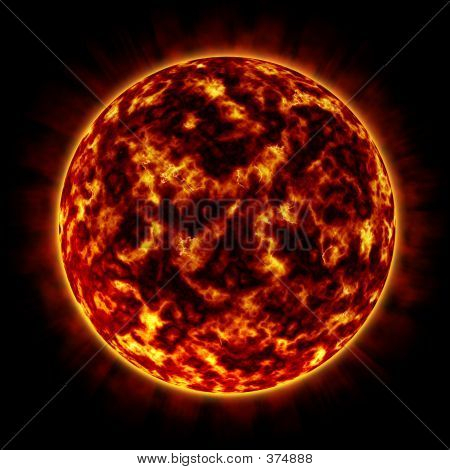 Fire Planet (orange)