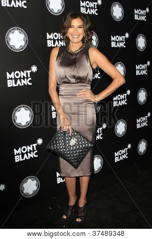 LOS ANGELES - OCT 2: Teri Hatcher at the Montblanc 2012 Montblanc De La Culture Arts Gala honoring Quincy Jones at Chateau Marmont on October 2, 2012 in Los Angeles, California