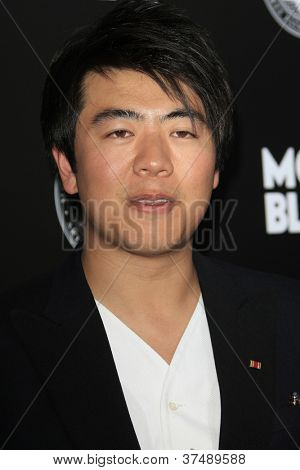 LOS ANGELES - OCT 2:  Lang Lang arrives at the 2012 Montblanc De La Culture Arts Gala at Chateau Marmont on October 2, 2012 in Los Angeles, CA