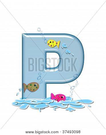 Alphabet Fish Flop P