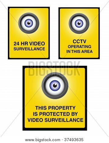Video Surveillance Camera Sign Part 2