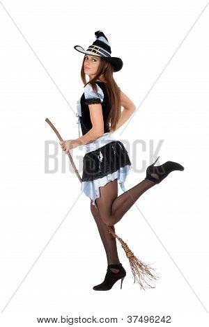 Playful Beautiful Young Woman