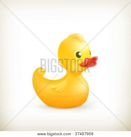 Rubber duck, vector