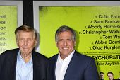 LOS ANGELES - OCT 30:  Sumner Redstone, Les Moonves  at the