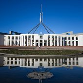 CANBERRA -SEP 20: Australia's landmark parliament house where both sides of the federal government d