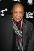 LOS ANGELES - OCT 2: Quincy Jones at the Montblanc 2012 Montblanc De La Culture Arts Gala honoring Q