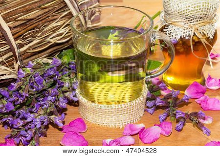 Herbal Infusion With Honey