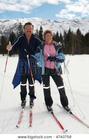 Senior Nordic Couple