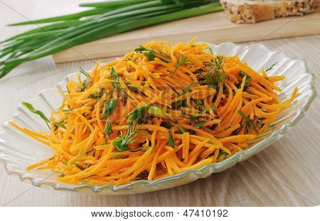 Salada de cenoura