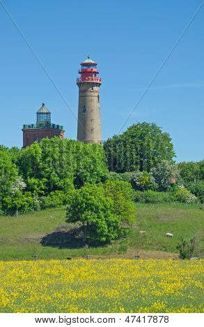 Lighthouse at Kap Arkona,Ruegen Island,Germany