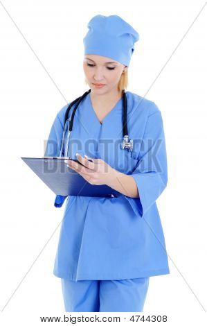 Medical Woman  Worker