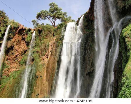 Moroccan Falls