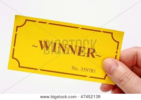 Winning Golden Ticket