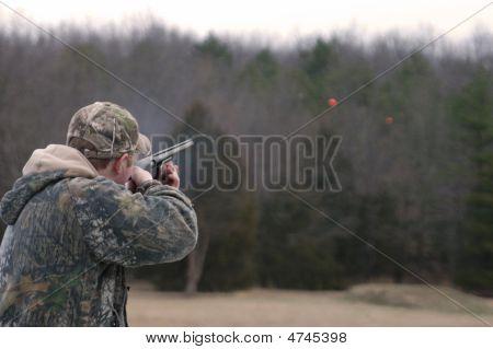 High School Trap Shooter