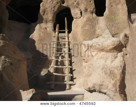 Ancient Pueblo Cave Dwelling