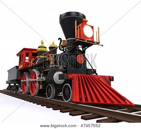 Old Locomotive Train