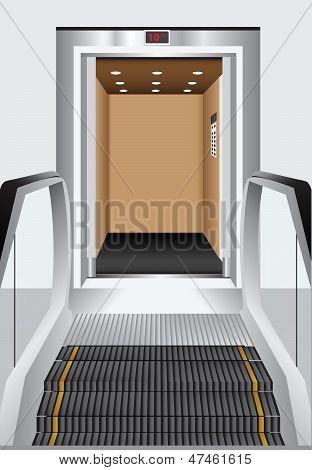Elevator - Escalator
