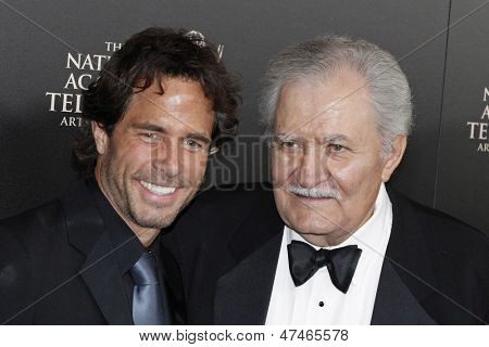 BEVERLY HILLS - JUN 16: Shawn Christian, John Aniston at the 40th Annual Daytime Emmy Awards at The Beverly Hilton Hotel on June 16, 2013 in Beverly Hills, California