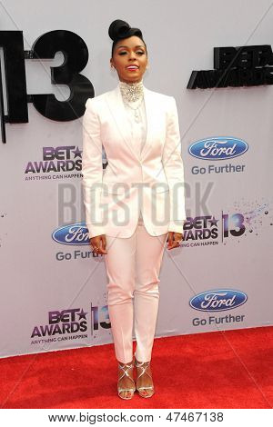 LOS ANGELES - JUN 30: Janelle Monae at the 2013 BET Awards at Nokia Theater L.A. Live on June 30, 2013 in Los Angeles, California