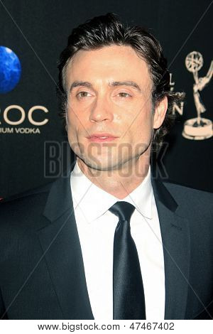 BEVERLY HILLS - JUN 16: Daniel Goddard at the 40th Annual Daytime Emmy Awards at The Beverly Hilton Hotel on June 16, 2013 in Beverly Hills, California