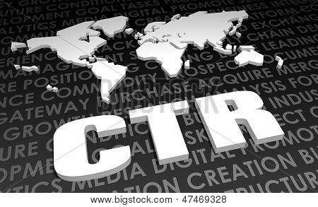 CTR Industry Global Standard on 3D Map