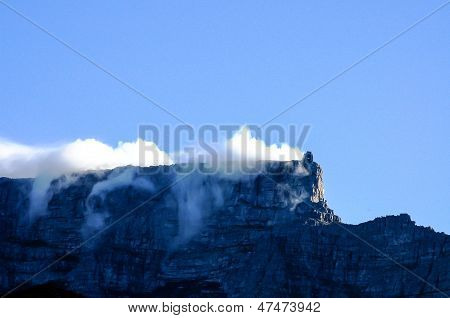Clouds Rolling over Table Mountain
