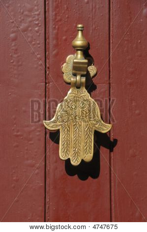 Old Knocker In The Shape Of A Hand